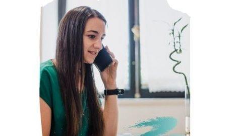 Cande teléfono diseño bambú
